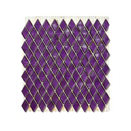 Fioletowa mozaika ze szkła GOLCONDA