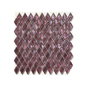 Fioletowa mozaika ze szkła MARTIAN