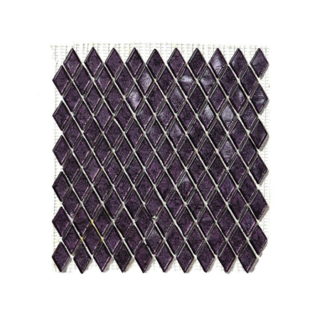 Fioletowa mozaika ze szkła NIZAM