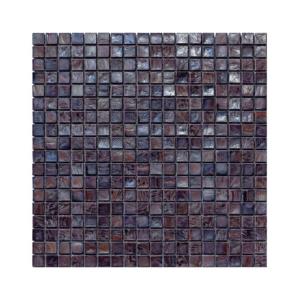 Fioletowo-brązowa mozaika ze szkła AMETHYST 4