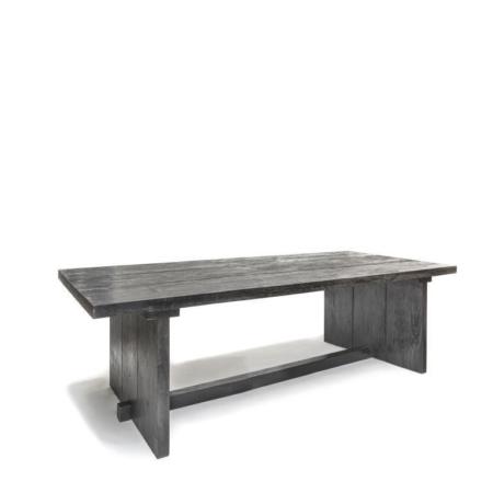 Grafitowy stół zdrewna ALEXI