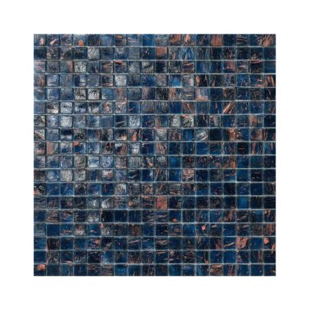 Granatowa mozaika ze szkła ECUADOR