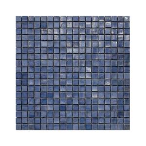 Granatowo-niebieska mozaika ze szkła INDACO 2