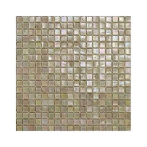 Jasnobrązowa mozaika ze szkła 111 PASSION FLOWER