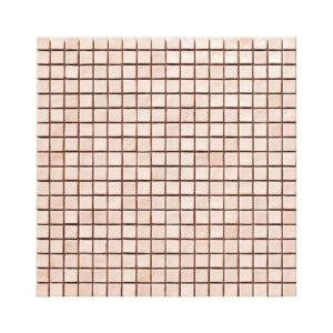 Jasnokoralowa mozaika ze szkła CORAL 1