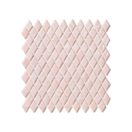 Jasnoróżowa mozaika ze szkła ARGYLE