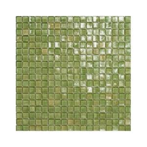Jasnozielona mozaika ze szkła 44 NICKEL