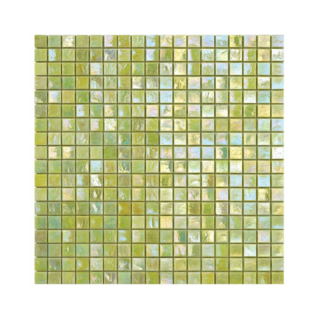 Jasnozielona mozaika ze szkła CALICANTUS 2