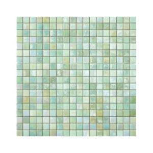 Jasnozielona mozaika ze szkła MINT 1