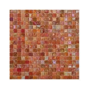 Koralowa mozaika ze szkła DAHLIA 2