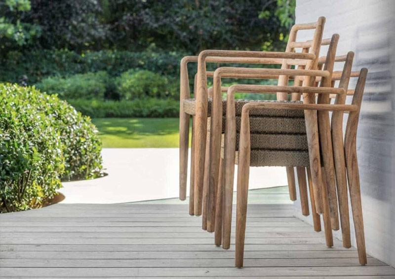 Krzesła sztaplowane dla hoteli i restauracji Jared 3