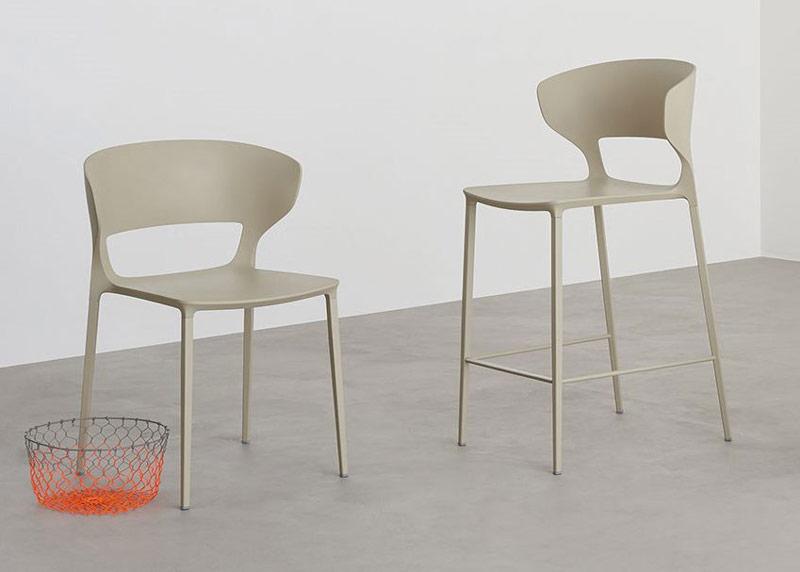 Krzesła sztaplowane dla hoteli i restauracji Koki