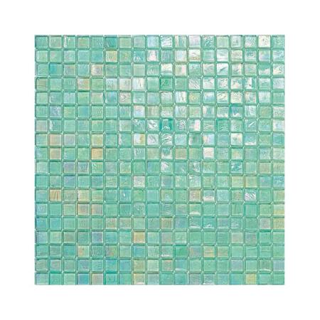 Miętowa mozaika ze szkła 142 ANANAS