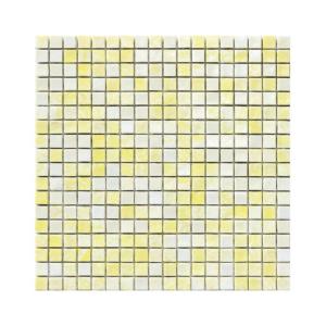 Miętowo-żółta mozaika ze szkła CADMIUM 1