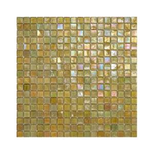 Mozaika awokado szkła z tęczowym refleksem 126 AVOCADO
