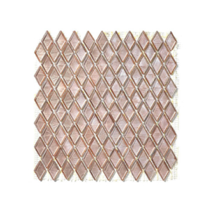 Mozaika ze szkła brudny róż MUROWA