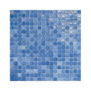 Niebieska mozaika ze szkła 18 FAVONIO