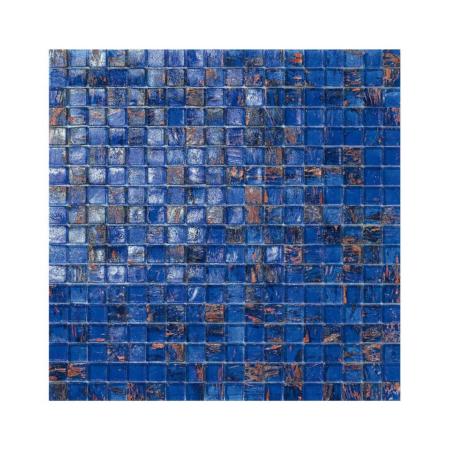 Niebieska mozaika ze szkła BERMUDA