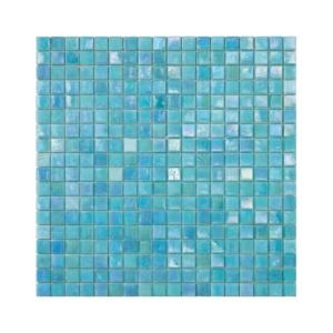 Niebieska mozaika ze szkła HYACINTH