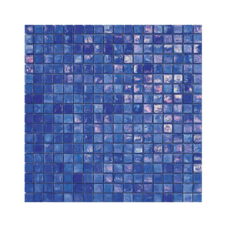 Niebieska mozaika ze szkła IRIS 3