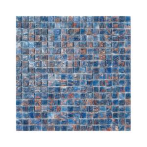 Niebieska mozaika ze szkła MALESIA