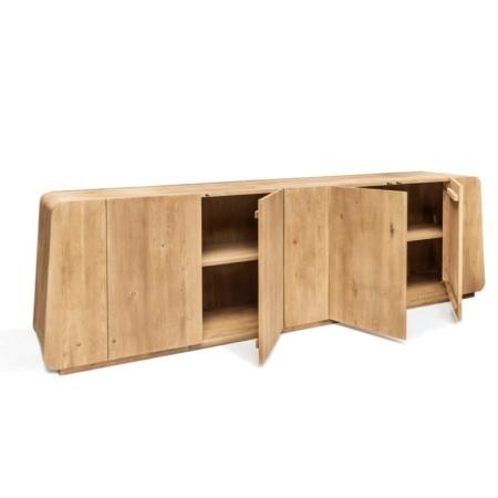 Nowoczesna komoda z drewna VINCENT