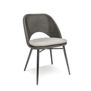 Nowoczesne krzesło ogrodowe z liny VICTORIA