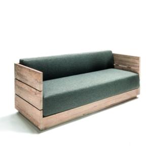 Ogrodowa sofa z drewna LISBOA