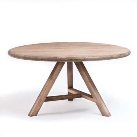 Okrągły stół z drewna ANTOINETTE