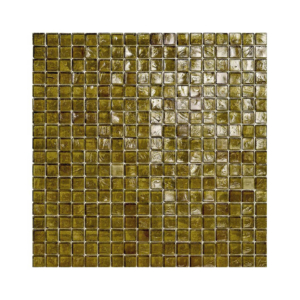 Oliwkowa mozaika ze szkła 29 TOPAZ