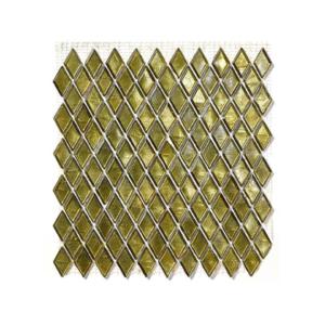Oliwkowa mozaika ze szkła CEMPAKA