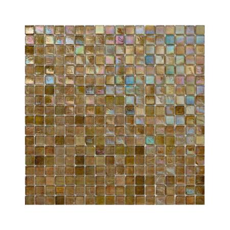 Oliwkowa mozaika ze szkła z tęczowym refleksem 129 DATE