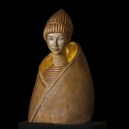 Orientalna rzeźba z brązu Malgorzata Chodakowska