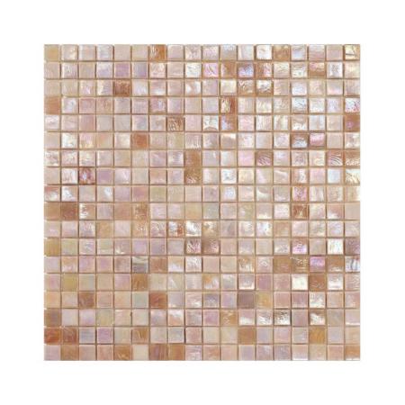 Perłowo-różowa mozaika ze szkła CROCUS 2