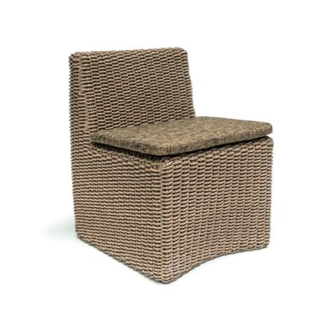 Plecione krzesło ogrodowe CLAIRE