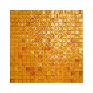 Pomarańczowa mozaika ze szkła 03 AMBER