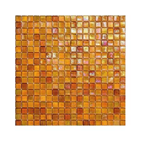 Pomarańczowa mozaika ze szkła 103 TANGERINE