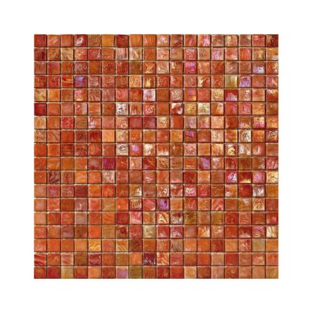 Pomarańczowa mozaika ze szkła DAHLIA 4