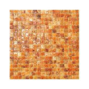 Pomarańczowa mozaika ze szkła NAMIBIA