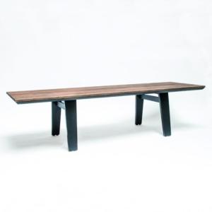 Prostokątny, drewniany stół ogrodowy MIA