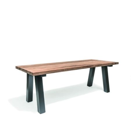 Prostokątny stół ogrodowy z drewna ANTICA TEAK