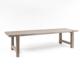 Prostokątny stół ogrodowy z drewna JACOB