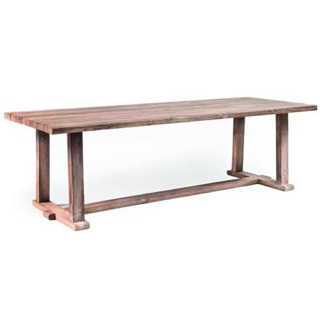Prostokątny stół ogrodowy z drewna JOSSE