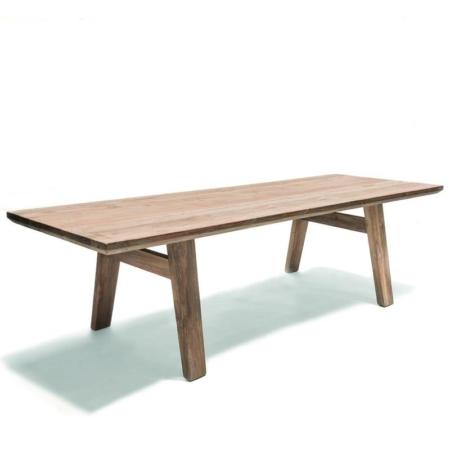Prostokątny stół ogrodowy z drewna MIA