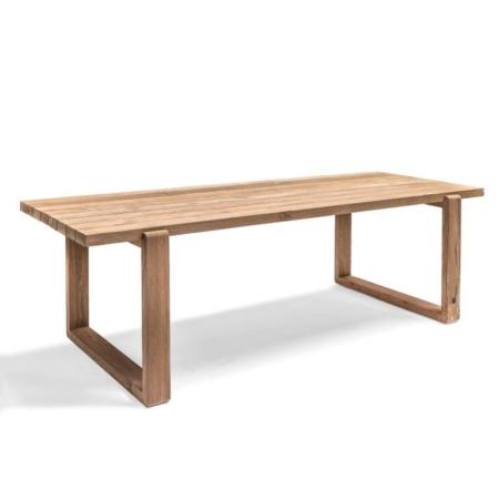 Prostokątny stół ogrodowy z drewna OSLO