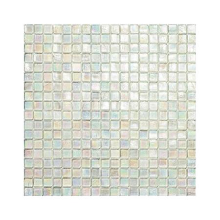 Przezroczysta mozaika ze szkła z tęczowym refleksem 121 GINGER