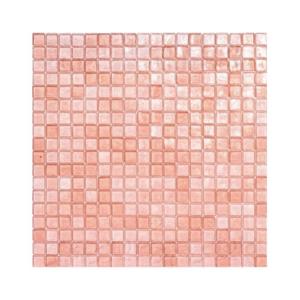 Różowa mozaika ze szkła 07 BLUSH
