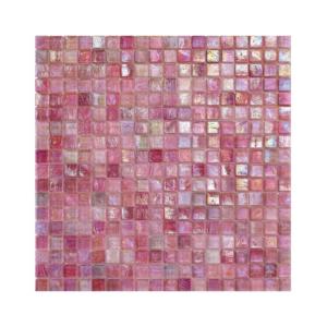 Różowa mozaika ze szkła AZALEA 2