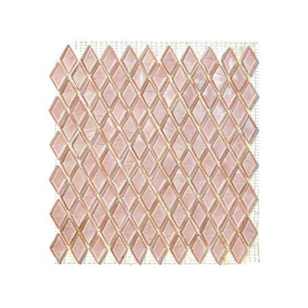 Różowa mozaika ze szkła BARITE