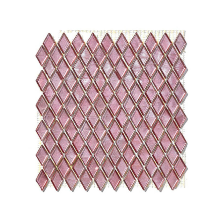 Różowa mozaika ze szkła FUXIAN